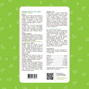 Gnojivo Velika biljka, organske hranjive tvari